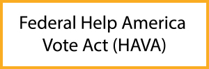 Federal Help America Vote Act
