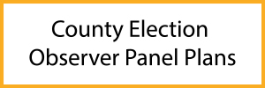 Election Observation Panel Plans