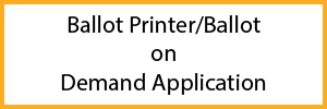 Ballot Printer Application