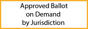 Ballot on Demand(BOD) Certification by Jurisdiction
