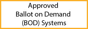 Approved Ballot on Demand Systems List