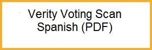 Hart Verity Voting Scan